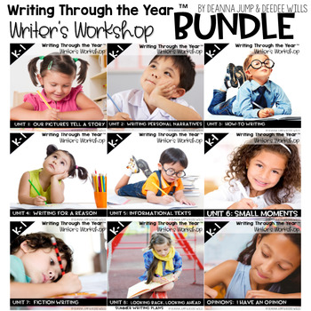 Writing Writers Workshop :Writing Through the Year Bundle