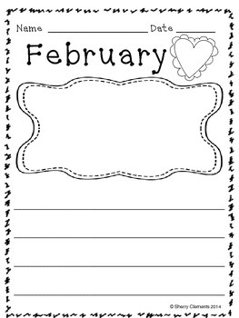 Writing Through the Year (PK, K, First, & Second Grades)