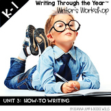 Writing Through the Year Unit 3