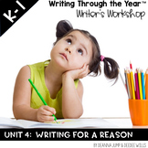 Writers Workshop :Writing Through the Year Unit 4  {Aligned with Common Core}