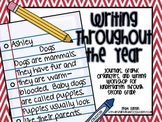 Writing Throughout The Year: Journals, Graphic Organizers, & Writing Workshop