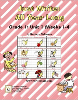 Daily 1st Grade Writing Lessons, Activities, Grammar - Uni