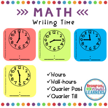 Writing Time from Analog clock