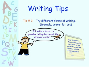 Writing Tips Power Point Presentation