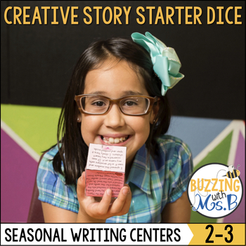 Writing Center: Creative Story Starter Dice for All Seasons