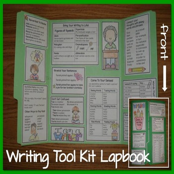 Writing Tool Kit Lapbook