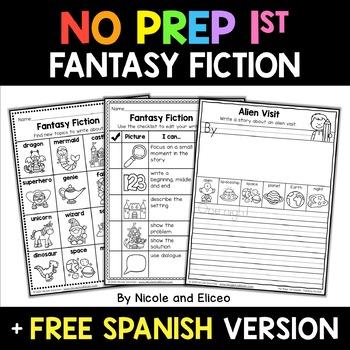 Fantasy Fiction Writing Unit Activities