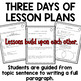 Topic Sentences Lesson Plans and Activities