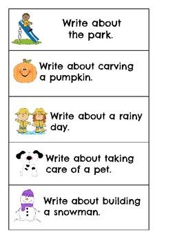 Writing: Topic Starters