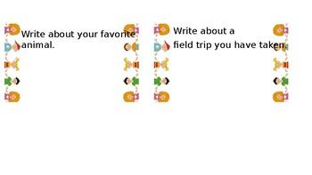 Writing Topics- 2nd Grade