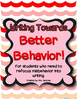Writing Towards Better Behavior