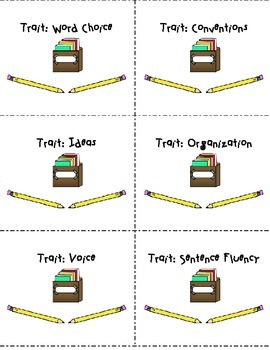 Writing Trait Labels