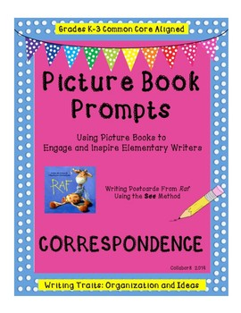 2 Interactive Writing Traits Lapbooks & Correspondence Lesson