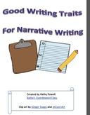 Writing Traits - Narrative and Imaginative Writing