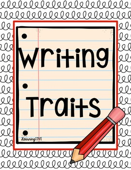 Writing Traits Posters!