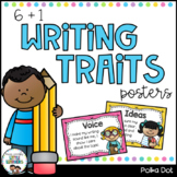 Writing Traits Posters {6+1} {Polka Dot}