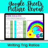 Writing Trig Ratios Google Sheets Activity--Digital Pictur