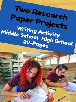 Writing: Two Research Paper Projects
