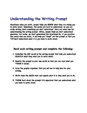 Writing-Understanding the Writing Prompt