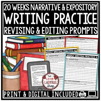 Writing Unit  3rd Grade & 4th Grade [STAAR Writing Practice]