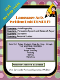 Writing Unit Bundle~ FIVE Writing Units at a DISCOUNTED Price!!!