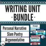 *Writing Unit Bundle - Personal Narrative, Slam Poetry, an