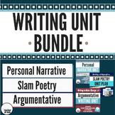 *Writing Unit Bundle - Personal Narrative, Slam Poetry, an