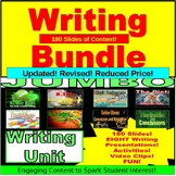 Writing Unit PowerPoint BUNDLE: PAPERLESS LESSONS