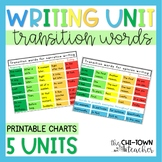 Transition Words Anchor Chart