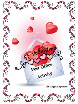 Valentine Themed Post Office Two Week Activity: Writing Unit