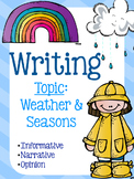 Writing Unit - Weather & Seasons