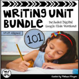 Writing Units Bundle - Distance Learning