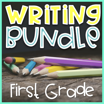 Writing Prompts For First Grade Bundle