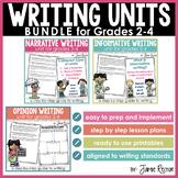 Writing Units BUNDLE for Grades 2-4