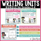 Writing Units BUNDLE for Grades 2-4
