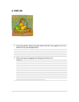 Writing-Using Pictures As Prompts