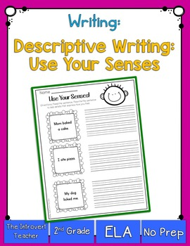 Writing: Using Your Senses