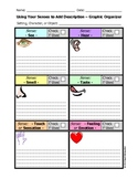 Writing - Using Your Senses to Add Description - Graphic Organizer