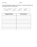 Writing VGLA Second Grade SOLs