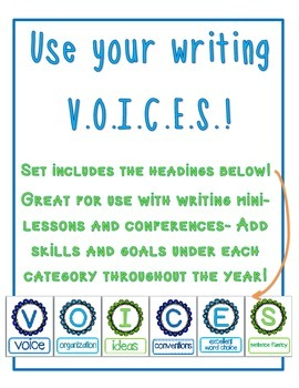 Writing VOICES Headers