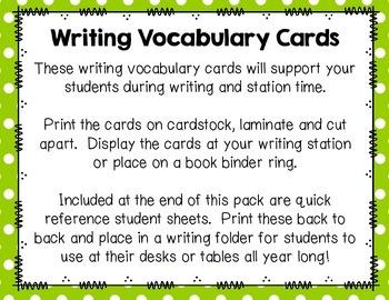 Writing Vocabulary Cards {Animals Edition}