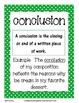 Writing Vocabulary Cards - Polka Dots Pattern