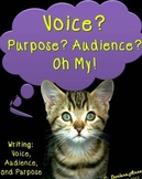 Writing: Voice, Audience, and Purpose