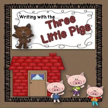 Three Little Pigs (Writing Activities)