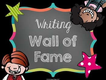 Writing Wall of Fame