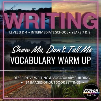 24 Writing Warm Up Images for Inspirational Vocabulary Building