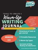 Writing Journal Mini-Lesson Pack: Freewriting