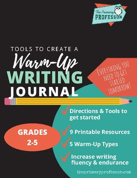 Warm-Up Writing Journal MiniLesson Pack