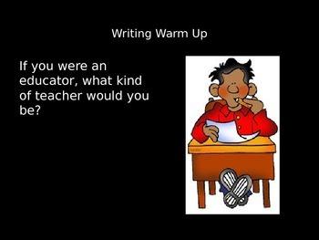 100 Journal Writing Warm-Ups