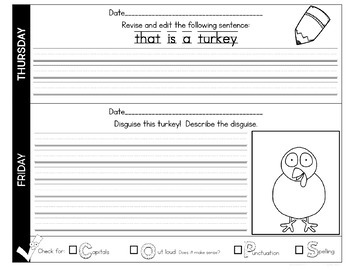 Quick Writes Writing Worksheets 2nd Quarter